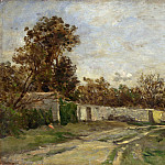 Part 1 National Gallery UK - Charles-Francois Daubigny - The Garden Wall