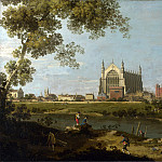 Canaletto – Eton College, Part 1 National Gallery UK