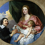 Part 1 National Gallery UK - Anthony van Dyck - The Abbe Scaglia adoring the Virgin and Child