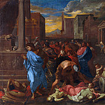 Part 1 National Gallery UK - Angelo Caroselli - The Plague at Ashdod (after Poussin)
