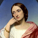 Part 1 National Gallery UK - Ary Scheffer - Mrs Robert Hollond