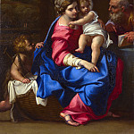 The Holy Family with the Infant Saint John the Baptist, Annibale Carracci