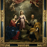 Part 1 National Gallery UK - Bartolome Esteban Murillo - The Heavenly and Earthly Trinities