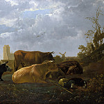 Part 1 National Gallery UK - Aelbert Cuyp - The Small Dort