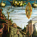 The Vision of the Blessed Gabriele, Carlo Crivelli