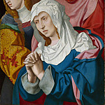 Bartholomeus Bruyn the Elder – The Virgin, Saints and a Holy Woman, Part 1 National Gallery UK