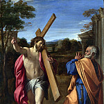 Christ appearing to Saint Peter on the Appian Way, Annibale Carracci