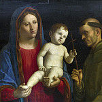 The Virgin and Child with Saint Paul and Saint Francis, Giovanni Battista Cima da Conegliano