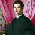 Part 1 National Gallery UK - Bronzino - Portrait of a Young Man