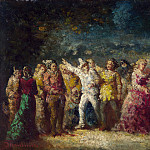 Adolphe Monticelli – Torchlight Procession, Part 1 National Gallery UK