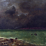 Part 1 National Gallery UK - Alfred Stevens - Storm at Honfleur