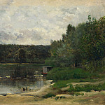 Charles-Francois Daubigny – River Scene with Ducks, Part 1 National Gallery UK