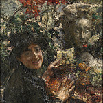 Part 1 National Gallery UK - Antonio Mancini - Aurelia