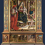 Carlo Crivelli – Altarpiece from S. Francesco dei Zoccolanti, Matelica, Part 1 National Gallery UK