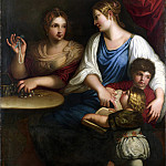 After Padovanino – Cornelia and her Sons, Part 1 National Gallery UK