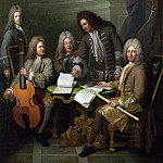 Andre Bouys – La Barre and Other Musicians, Part 1 National Gallery UK