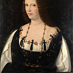 Part 1 National Gallery UK - Bartolomeo Veneto - Portrait of a Young Lady