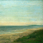 The Sea near Palavas, Gustave Courbet