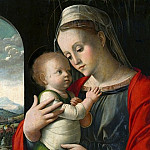 Part 1 National Gallery UK - Alvise Vivarini - Virgin and Child