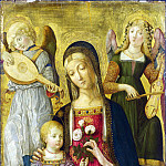 Part 1 National Gallery UK - Benvenuto di Giovanni - The Virgin and Child (1)