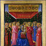 Probably by Benozzo Gozzoli – The Virgin and Child with Angels, Part 1 National Gallery UK