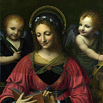 Part 1 National Gallery UK - After Bernardino Luini - Saint Catherine