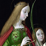 Antonio de Solario – Saint Catherine of Alexandria , Part 1 National Gallery UK