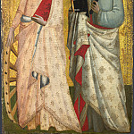 Part 1 National Gallery UK - Allegretto Nuzi - Saint Catherine and Saint Bartholomew