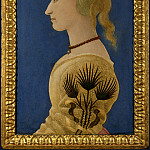 Part 1 National Gallery UK - Alesso Baldovinetti - Portrait of a Lady