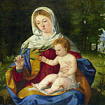 Andrea Previtali – The Virgin and Child with a Shoot of Olive, Part 1 National Gallery UK