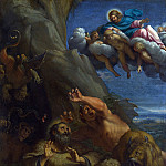 Part 1 National Gallery UK - Annibale Carracci - Christ appearing to Saint Anthony Abbot