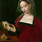 Ambrosius Benson – The Magdalen Reading, Part 1 National Gallery UK