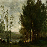 Charles-Francois Daubigny – Willows, Part 1 National Gallery UK