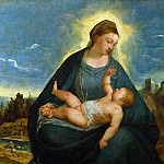 Part 1 National Gallery UK - Bernardino da Asola - The Madonna and Child