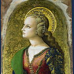 Part 1 National Gallery UK - Carlo Crivelli - Saint Catherine of Alexandria (1)