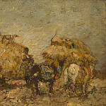 Adolphe Monticelli – The Hayfield, Part 1 National Gallery UK