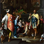 Bartholomaeus Spranger – The Adoration of the Kings, Part 1 National Gallery UK