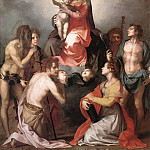 Madonna in Glory and Saints WGA, Andrea del Sarto