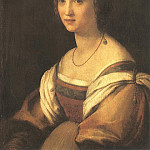 Portrait of the Artists Wife , Andrea del Sarto