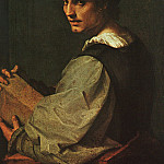 Portrait of a Young Man , Andrea del Sarto
