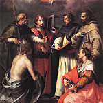 Disputation over the Trinity WGA, Andrea del Sarto