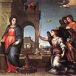 The Annunciation WGA, Andrea del Sarto