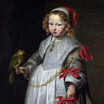 Netherlandish – Portrait of a Girl with a Parrot, Part 5 National Gallery UK