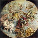 Part 5 National Gallery UK - Peter Paul Rubens - The Apotheosis of the Duke of Buckingham