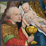 Master of Liesborn – The Adoration of the Kings, Part 5 National Gallery UK