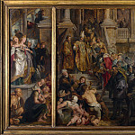 Peter Paul Rubens – Oil Sketch for High Altarpiece, St Bavo, Ghent, Part 5 National Gallery UK