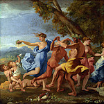 Nicolas Poussin – A Bacchanalian Revel before a Term, Part 5 National Gallery UK
