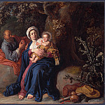 Pieter Lastman – The Rest on the Flight into Egypt, Part 5 National Gallery UK