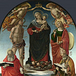 Part 5 National Gallery UK - Luca Signorelli - The Virgin and Child with Saints