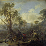 Philips Wouwermans – A Stag Hunt, Part 5 National Gallery UK
